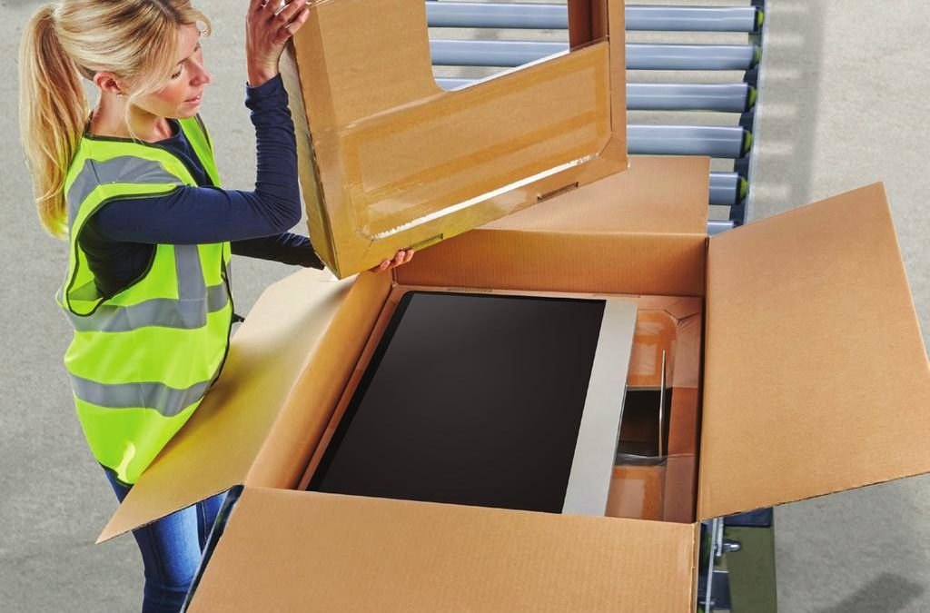 ♻️ Embalaje sostenible para envío de productos tecnológicos ♻️